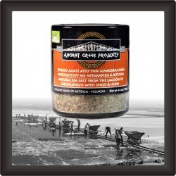 Sea-salt-of-Messolonghi-Garlic-Black-pepper-Sage-Rosemary-Oregano-Thyme-150gr