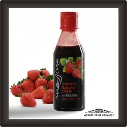 Strawberry balsamic cream