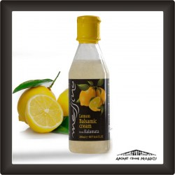 Lemon balsamic cream